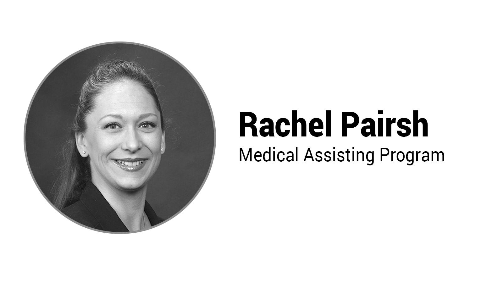 Faculty Highlight – Rachel Pairsh