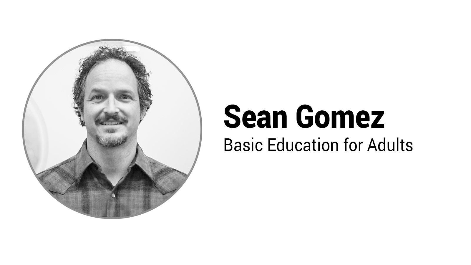 Faculty Highlight – Sean Gomez